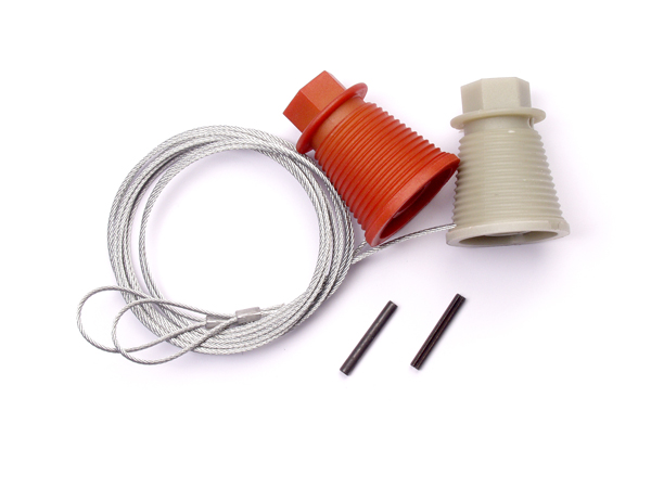 Cardale Canopy Garage Door Cones and Cables Set
