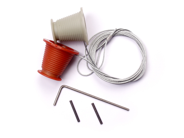 King Canopy Garage Door Cones and Cables Set