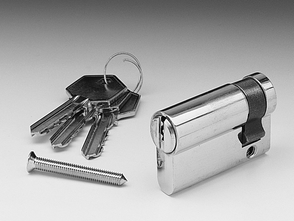 Garador Garage Door Replacement Lock Barrel With Keys