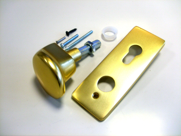 Hormann Up and Over Brass Garage Door Handle